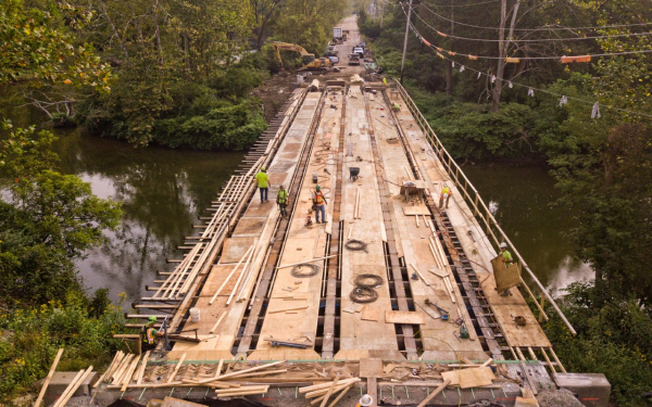 Image of Bath Road Bridge Deck Forming 2019 Photo by Eilert Ofstead