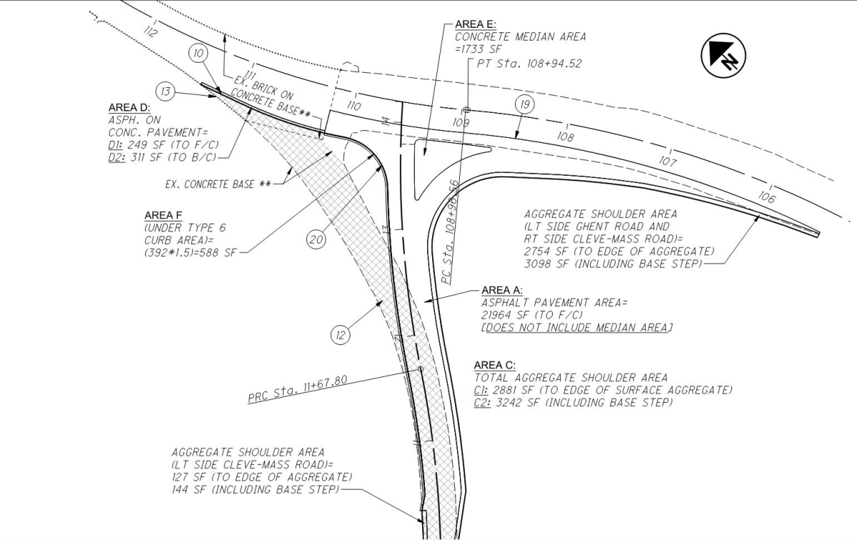 Project Image for Intersection Improvement: Cleveland-Massillon Road at Ghent Road