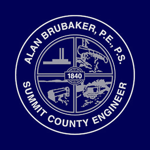 Small Summit County Engineer Logo